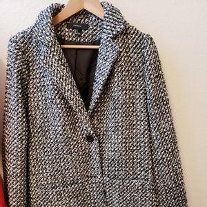white/black jacket